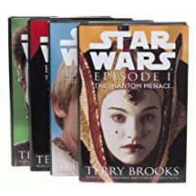 Star Wars Episode I: The Phantom Menace (4 Different Cover Set)