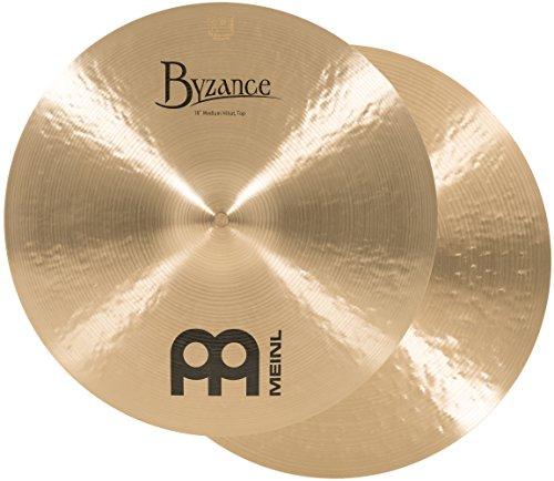 Meinl Cymbals B16MH Byzance 16-Inch Traditional Medium Hi-Hat Cymbal Pair (VIDEO) ()