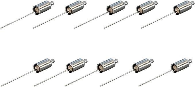 10 resistencias de terminación para cable de banda ancha y tomas de antena satélite (75 ohmios).
