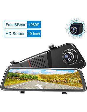 Mirror Dash Cam Backup Camera 10-Inch Double 1080P Full HD Touch Screen  Dual Lens 222b5446ec