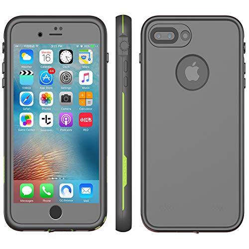 iPhone 8 Plus & 7 Plus Waterproof Case - Underwater Snowproof Dirtproof Shockproof Cover (Best Iphone 7 Plus Waterproof)
