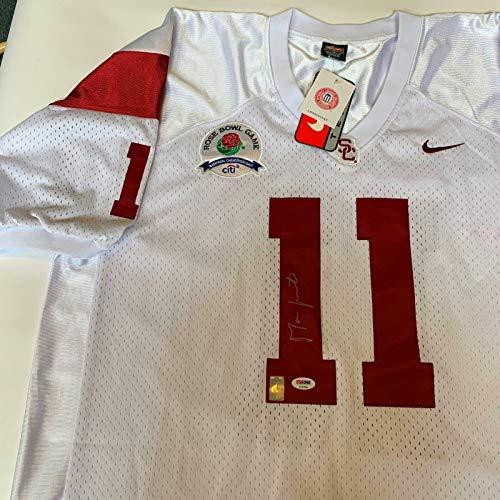 Autographed Matt Leinart Jersey - Nike Rose Bowl COA - PSA/DNA Certified - Autographed College Jerseys
