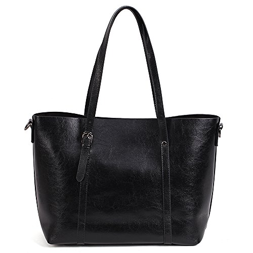 Noir Shoulder Women's Vovoye HandBags Leather Adjustable Large Size Faux Designer RzBfxzZ0