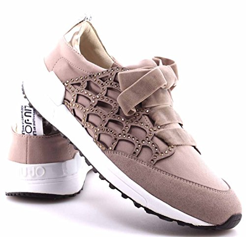 Liu Jo Damen Sneaker Aura Sneakers Taubengrau