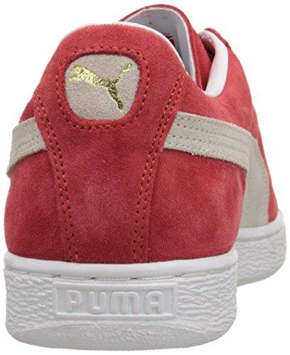 Classic Rosso high Risk Eu Unisex Suede Red Puma Sneaker white Adulto – 45 5xnqpWR4w