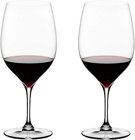 RIEDEL 644898 wine cabernetMerlot, 2 glasses: Amazon.co.uk