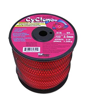 Cyclone-155-Inch-red-string-trimmer-line