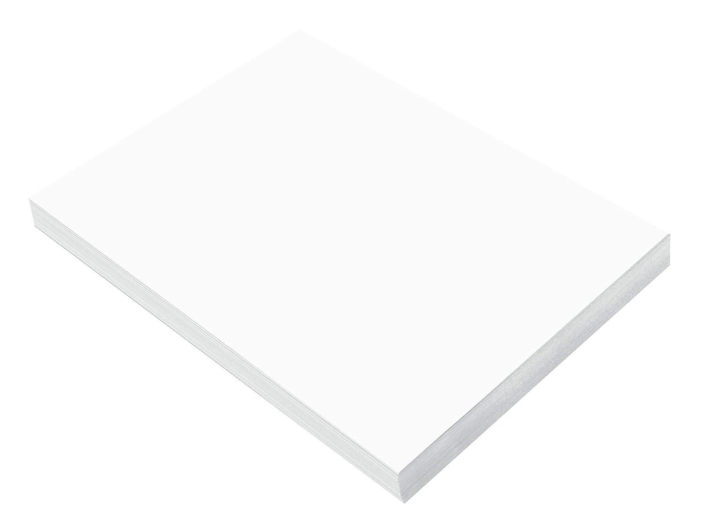 SunWorks Construction Paper 9 x 12 100 Sheets Bright White