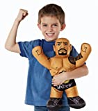 WWE Championship Brawlin Buddies The Rock Action Figure