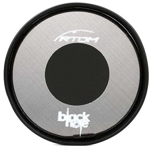 RTOM Black Hole Snap-On Mesh Practice Pad - 8 Inches