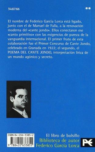 Poema Del Cante Jondo (1921): Seguido De Tres Textos Teoricos De Federico Garcia Loca Y Manuel De Falla (Spanish Edition