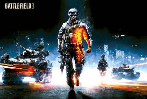 Price comparison product image J-4308 Battlefield 3, Battle Field Game Poster - Rare New - Image Print Photo