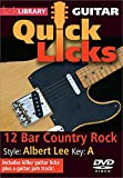 Quick Licks - Albert Lee DVD 12 Bar Country Rock For Guitar
