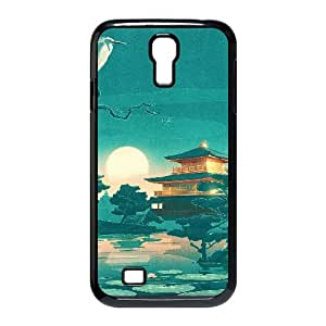Vety Funny Samsung Galaxy S4 Case Eastern Painting, Cute Funny, {Black}