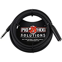 Pig Hog PHX14-10 1/4 TRSF to 1/4 TRSM Headphone Extension Cable, 10 feet