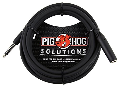 Buy pig hog xlr male trs male adapter