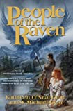 Front cover for the book People of the Raven by Kathleen O'Neal Gear