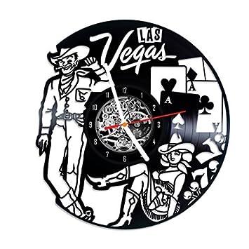 Amazon Las Vegas Vinyl Wall Clock Home Decor Gift Idea Baby