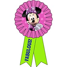 Kidspartyworld.Com Minnie Bows Award Ribbon