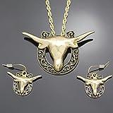 Gold Tone Q&Q Fashion Western Cowgirl Shoe Scroll