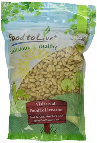 Food To Live ® Pine Nuts / Pignolias (1 Pound)