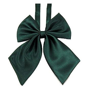 SODIAL(R) Corbata de mono de mujer color puro ajustable mujer ...
