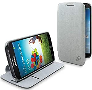 Cygnett Cache Grey Fabric/Pc Case For S4 (Cy1190Cxcac)