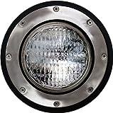 Dabmar Lighting LV306-SS-SLV Cast Aluminum In-Ground Well Light, Stainless Steel