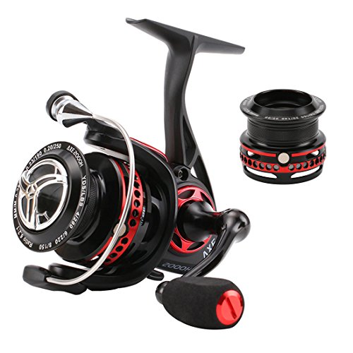 SeaKnight AXE Spinning Fishing Reel Full Metal 11BB Anti-Corrosion Design Smooth and Powerful Fresh and Saltwater Fishing Reels