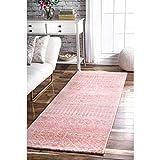nuLOOM Moroccan Blythe Runner Rug, 2' 8'' x 8', Pink