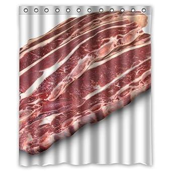 Beef Meat Shower Curtain 60 X 72 Inch Bathroom