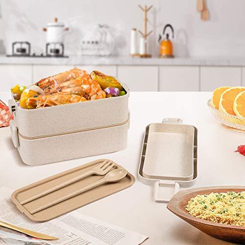 Lunch box étanche compartmentée
