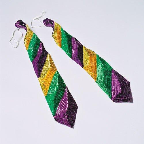 Mens Mardi Gras Costumes (Mardi Gras Long Tie)