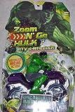 : ATV 4-WHEELER * INCREDIBLE HULK * Zoom N' Go Hulk Motorized Vehicle