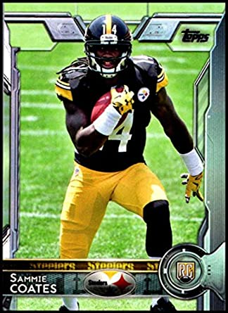 save off 5307c 69ca1 Amazon.com: 2015 Topps #407 Sammie Coates Pittsburgh ...