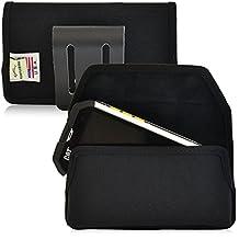 Turtleback Caterpillar CAT B15 B15Q Phone Holster Pouch Case, Magnetic Closure, Black Nylon (Black Belt Loop)