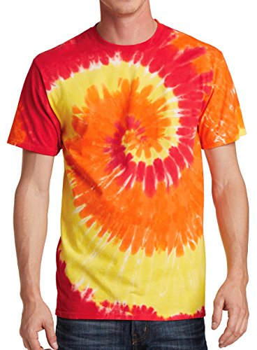 GoldenGateTees Tie Dye Style T-Shirts for Men and Women - Fun & Multi Color