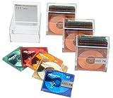 Memorex 74-Minute Minidisc Media Colors, 20-Pack