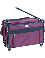 TUTTO 22 Inch Maximizer Carry-On Suiter, Burgundy, One Size