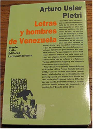Amazon.com: Letras y Hombres de Venezuela (9789800108390 ...