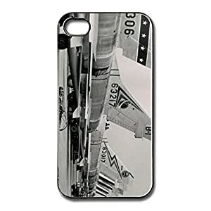 Customize North American F100 Super Sabre Iphone 4S Cover -Graphic Art Iphone 4 4s Shell