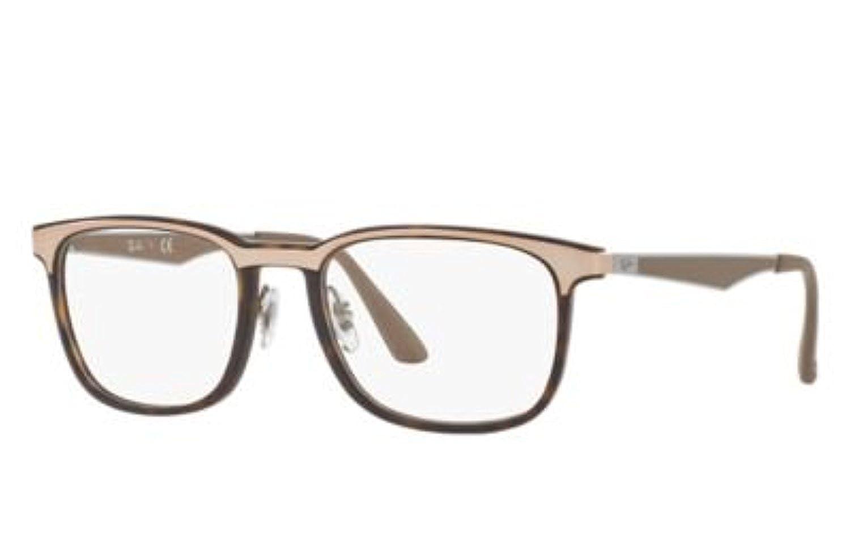 RB Mens RX7163 Eyeglasses /& Cleaning Kit Bundle
