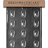 Dress My Cupcake Chocolate Candy Mold, Fireman's Hat