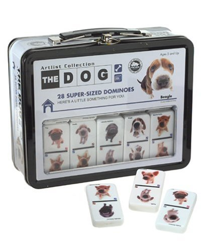 The Dog Artlist Dominoes by Sababa Toys