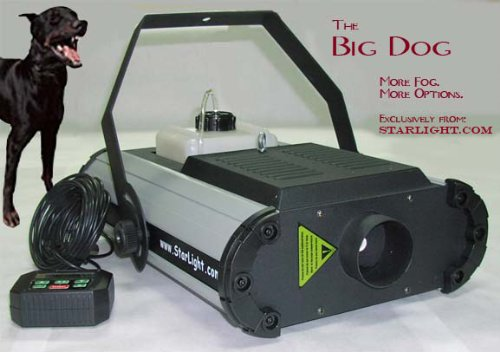 [Big Dog Future Fog Machine for Fire Departments] (Small Fog Machines)