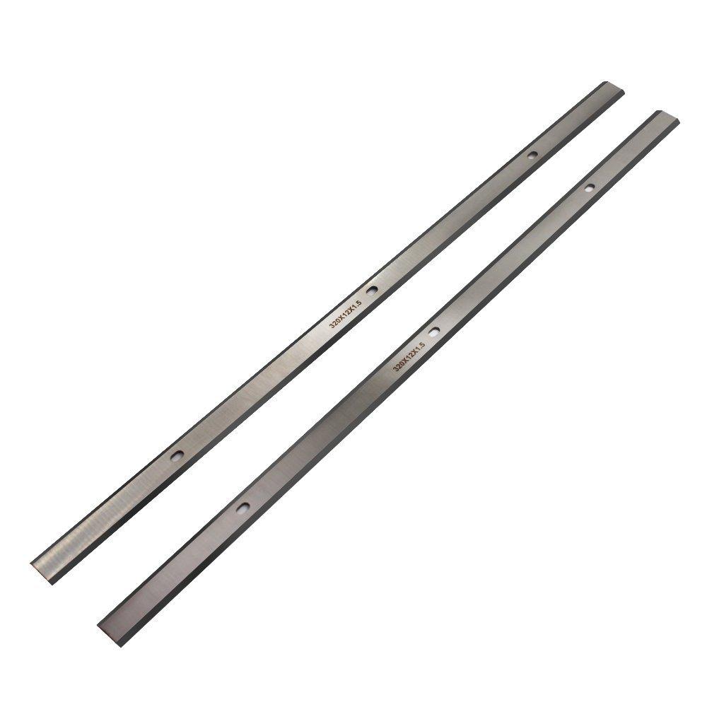 Planer Blades JESTUOUS 12.5 Inch for Craftsman 21758 WEN 6550 Delta 22-560, 22-565,22-562 TP305 HSS Replacement Planer Knives,12-1/2x15/32x1/16,2 pcs
