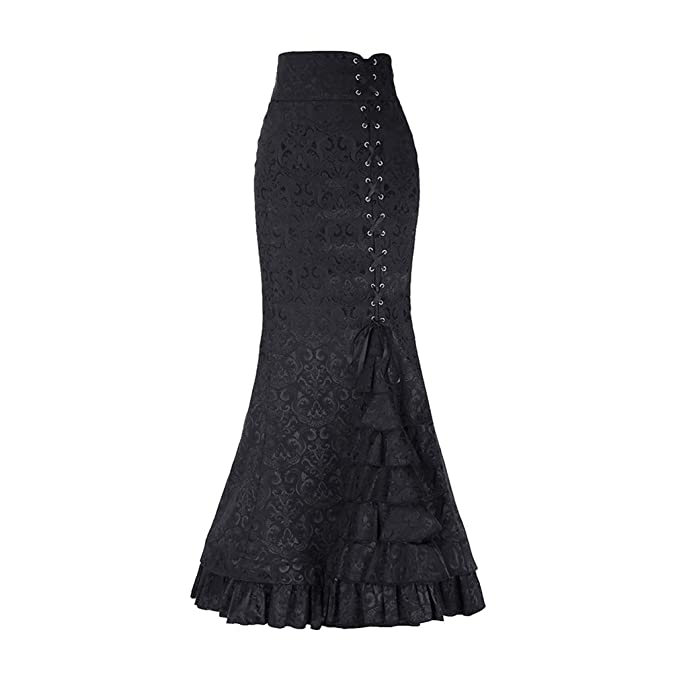 es Adelgazar Elegantes Estilo Cintura Amazon Retro Club Lìnea A Victoriano Alta Fiesta Plisadas Xxl Faldas M Mujeres Casual Larga Ropa Falda Xl S L B8CxPqwx