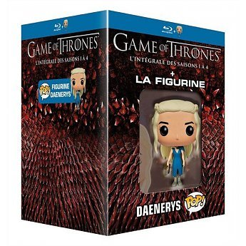 Game of Thrones (Complete Seasons 1-4) - 19-Disc Box Set & Daenerys Targaryen Figurine ( Game of Thrones - Seasons One to Four (40 Episodes) ) [ Blu-Ray, Reg.A/B/C Import - Netherlands (Got Season 4 Blu Ray)