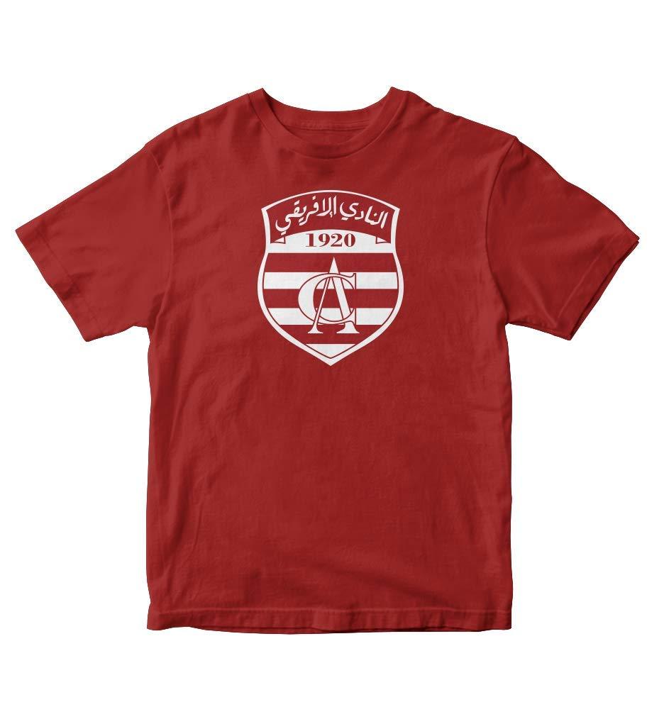Tjsports Club Africain Tunisia Football Soccer T Shirt Africa