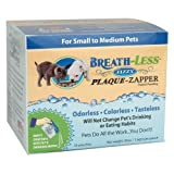 Breath-Less Fizzy Plaque-Zapper – 30 count (1.5 gm per pouch) for Small to Medium Size Dogs, My Pet Supplies